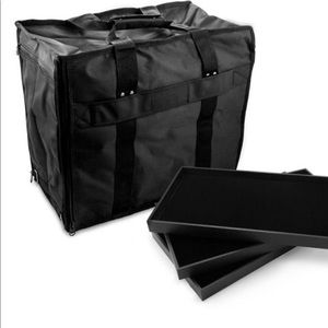 Jewellery carry on bag with trays